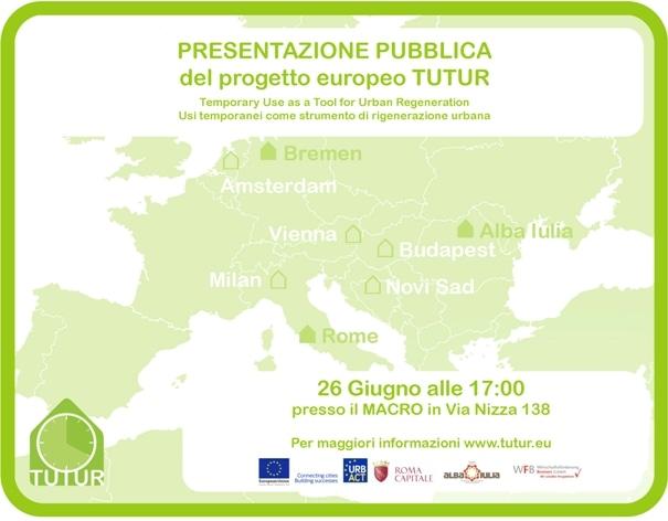 26 giugno 2014, presentazione pubblica del progetto europeo TUTUR