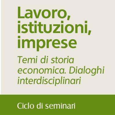 """20 gennaio, seminario """"Sistemi di Welfare, dalle imprese alle istituzioni private"""""""