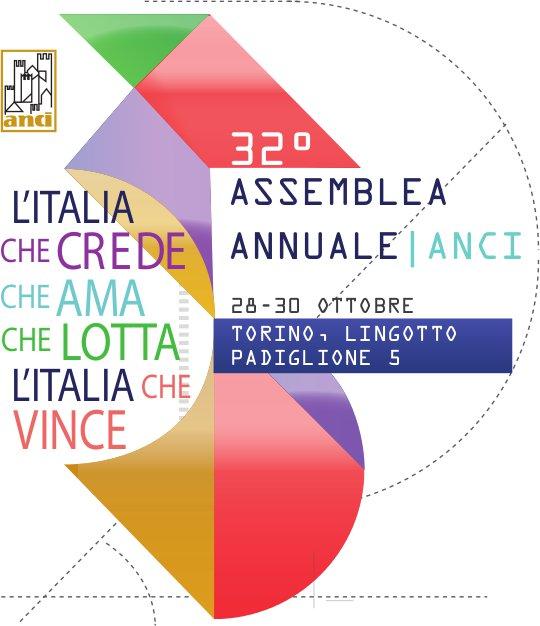 A Torino dal 28 al 30 ottobre la XXXII Assemblea Anci