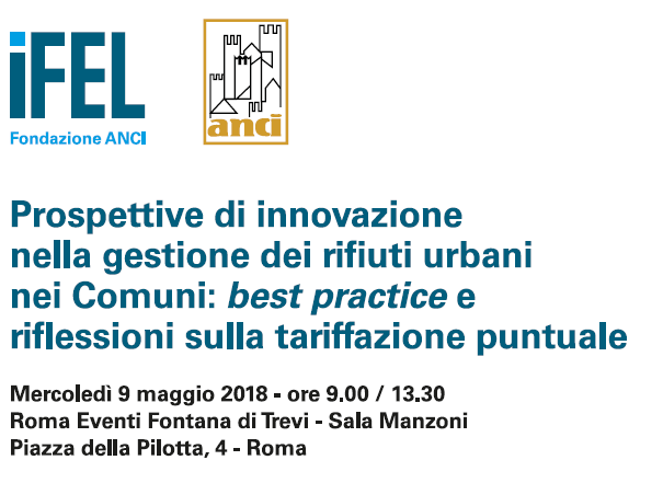 Prospettive di innovazione nella gestione dei rifiuti urbani nei Comuni: best practice e riflessioni sulla tariffazione puntuale