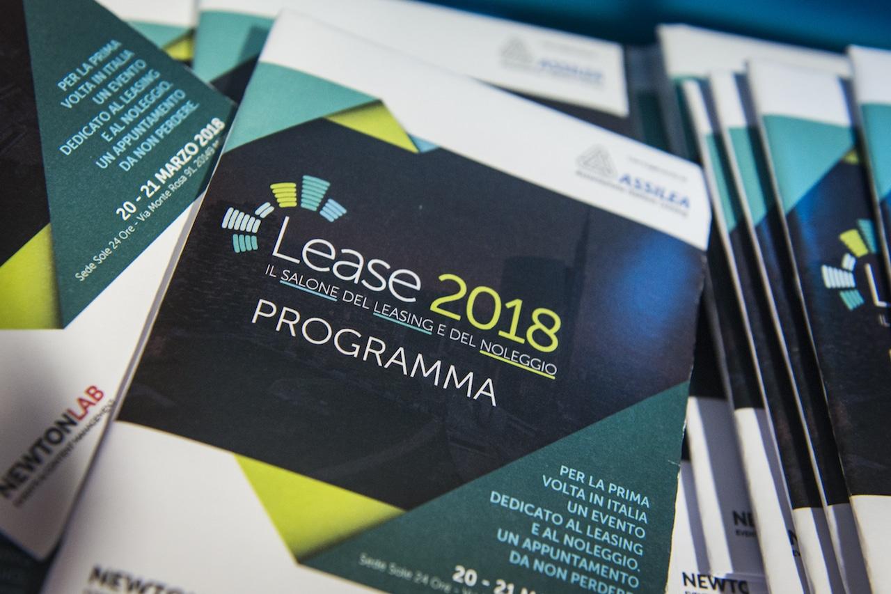 Lease 2018. Salone del leasing e del noleggio