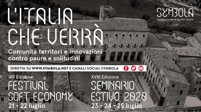"""""""L'Italia che verrà"""". Seminario estivo e Festival della Soft Economy di Symbola"""