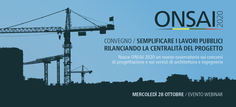Semplificare i lavori pubblici, rilanciando la centralità del progetto