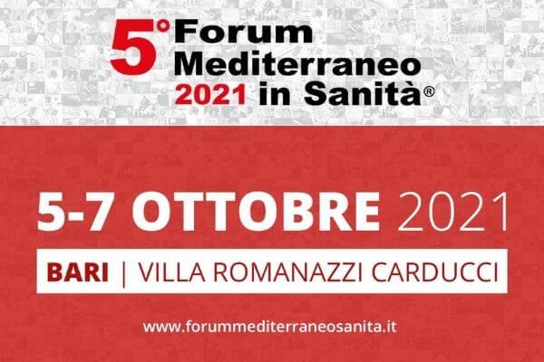 PNRR, salute e ruolo dei Sindaci: il 6 ottobre appuntamento al 5° Forum Mediterraneo in Sanità